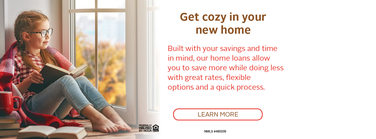 Get Cozy in your new home - click to learn more