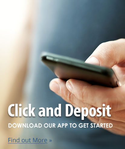 Download our New Mobile Deposit app